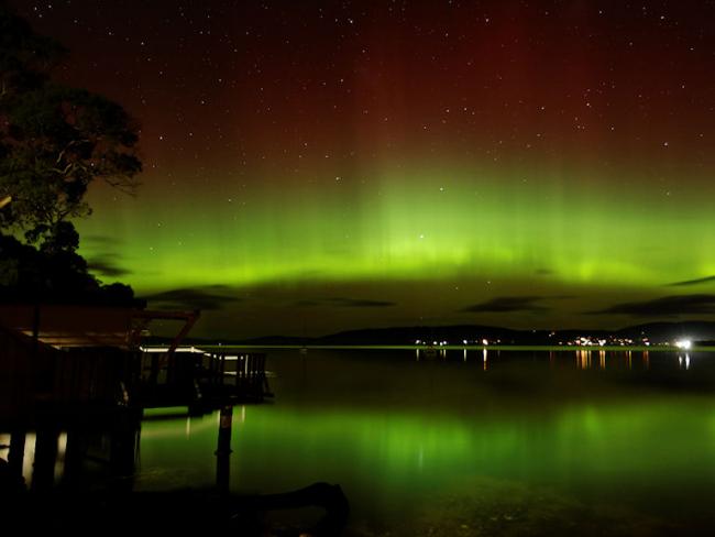 southern aurora australis lights australia