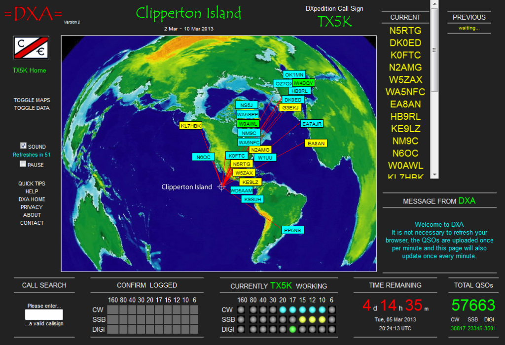 Clipperton Dxpedition island 2013
