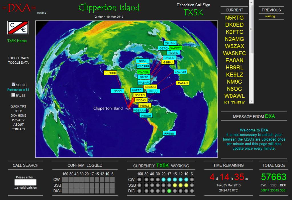 Clipperton Dxpedition island 2013